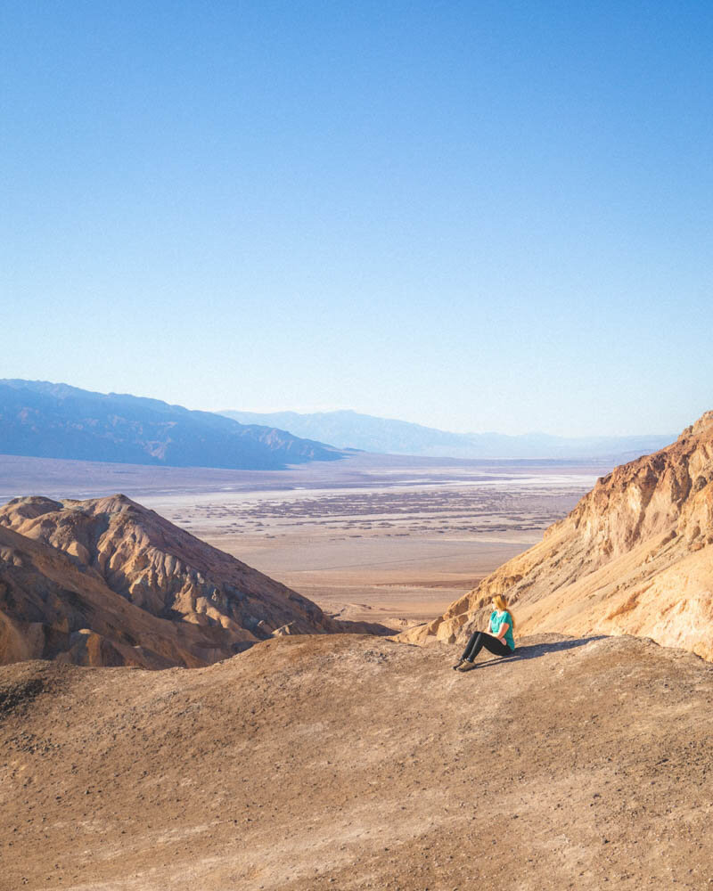 Death Valley hikes: The top of the Desolation Canyon Walk