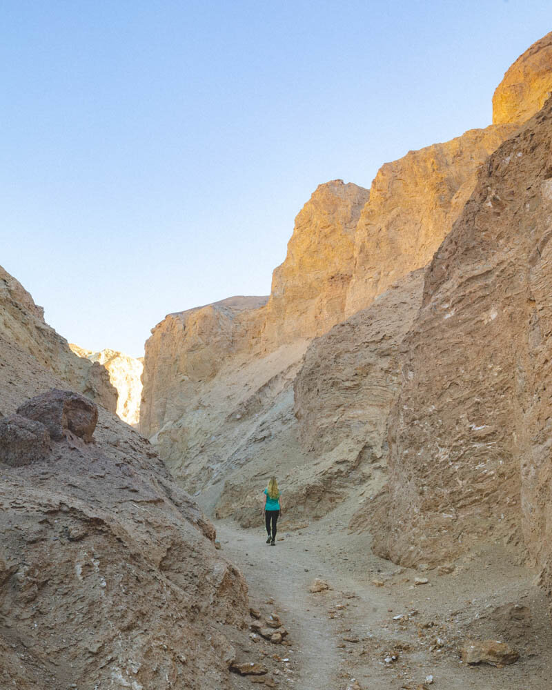 Death Valley hikes: Desolation Canyon