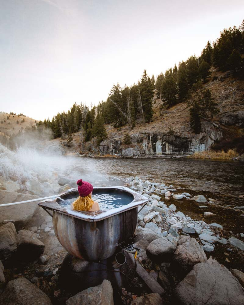 Boat Box Hot Springs - how to find it and get it to yourself — Walk My World