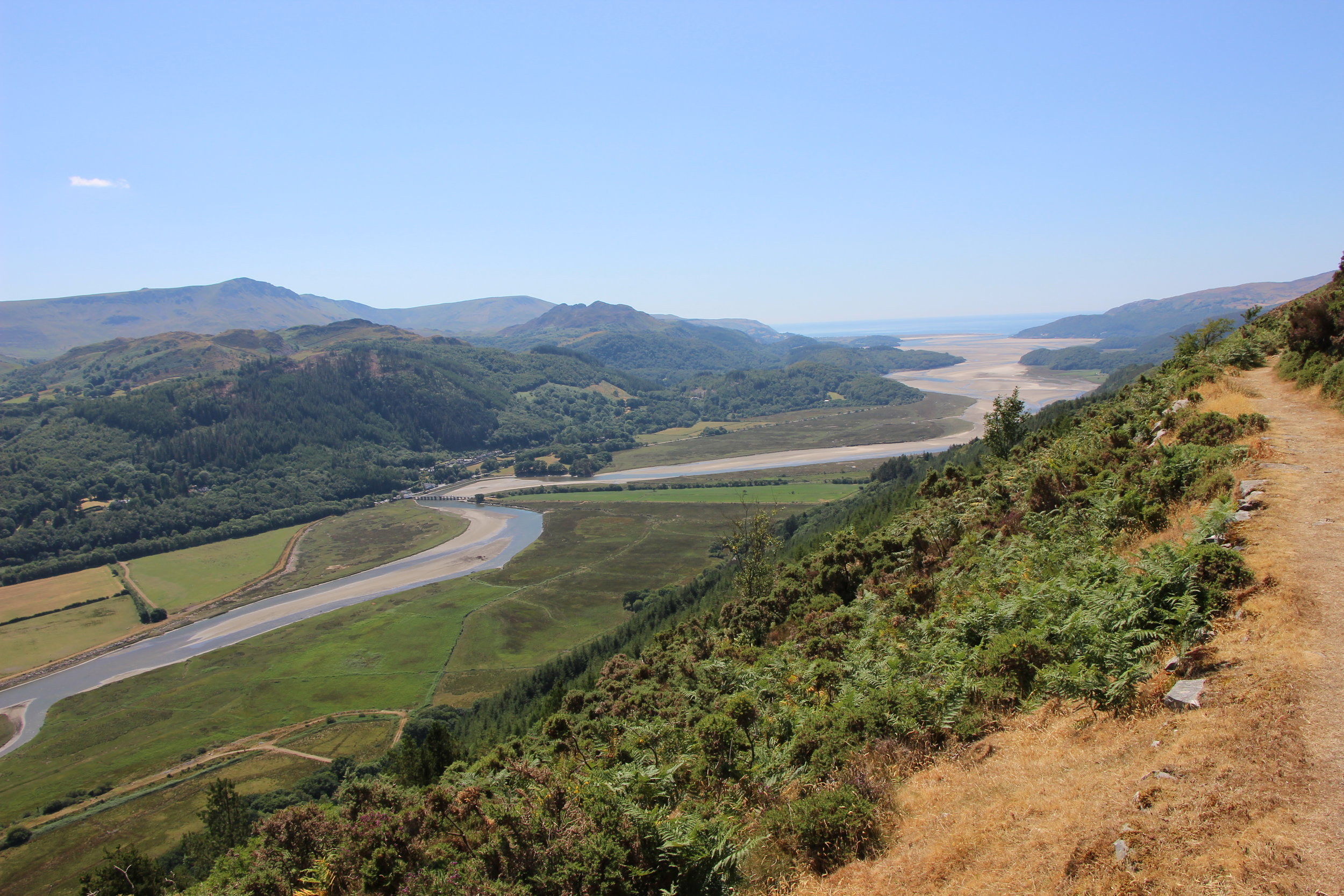 View over Mawddach Estuary