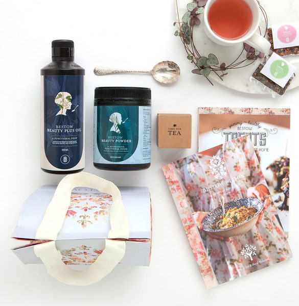 Bestow - Bestow founder,Janine Tait, combined her two super-powers as a dermo-nutritionist and skin-health expert to develop the products and holistic skincare approach at the heart of Bestow. Bestow offers a natural range of organic superfood blends, which moisturise, nourish, purify and protect your skin from within.