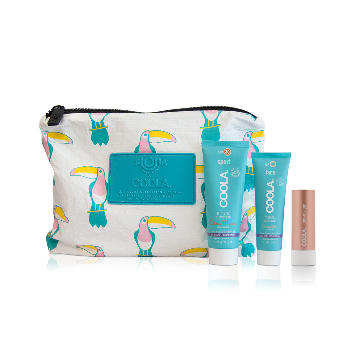 COOLA - Our quest is to spoil your sometimes finicky, always worthy skin with the most pure, eco-conscious products possible. After all, you may obsess over what you put in your body, but think about what you put on it. We thought about it, quite a bit actually, and we consciously chose to develop our line using as many ingredients as possible that are natural, organic, sustainable and locally sourced, much like the foods we prefer to eat