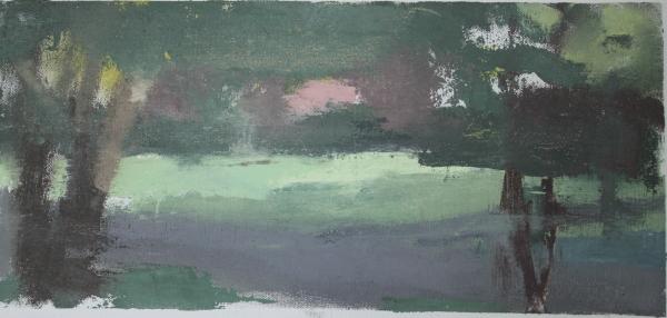 Pink spot painting, Montgomery AL
