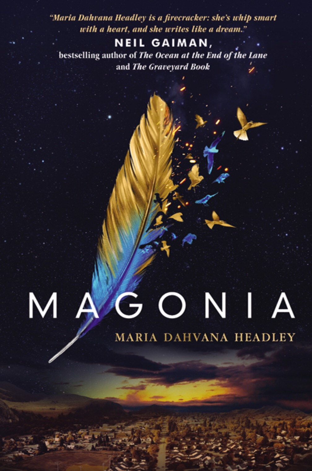 Magonia - By Maria Dahvana Headley | Magonia #1My rating: 3 stars | Pages: 309What made me pick it up: YA book club pickFormat: eBook | Source: Overdrive2018 challenge/s: Goodreads 2018 Reading Challenge;