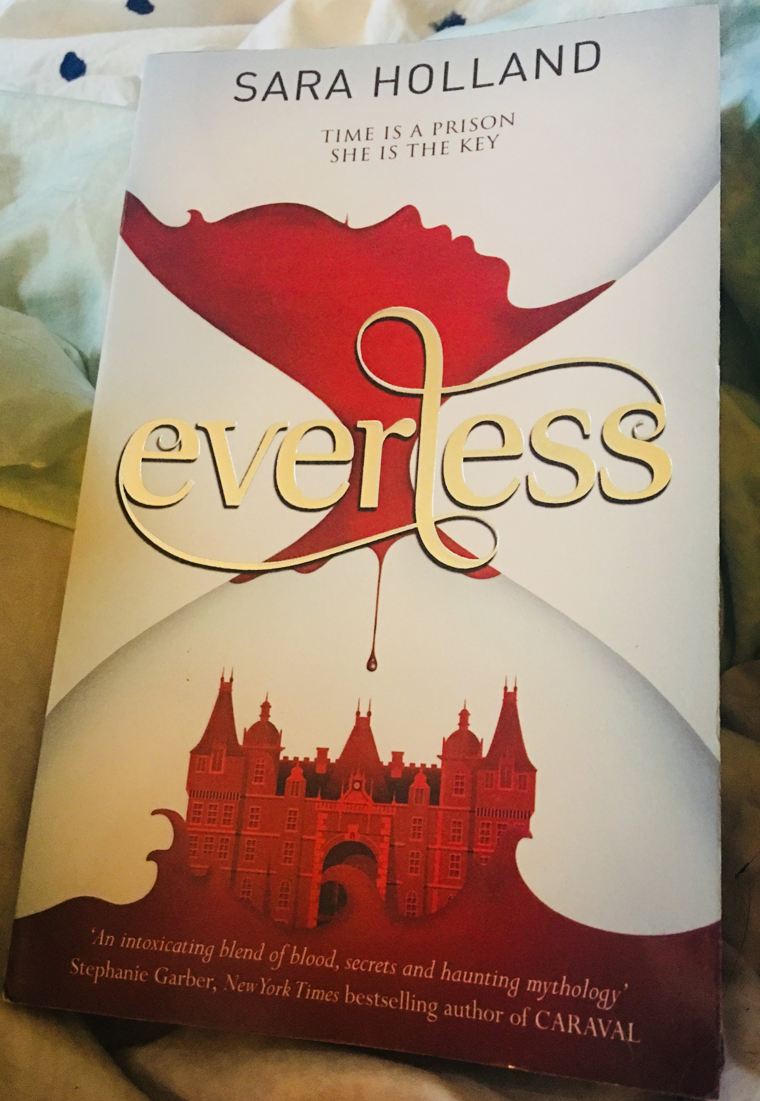 Everless - By Sara Holland   Everless #1My rating: 4 stars   Pages: 362What made me pick it up: BookclubFormat: Paperback   Source: Dymocks2018 challenge/s: Goodreads 2018 Reading Challenge
