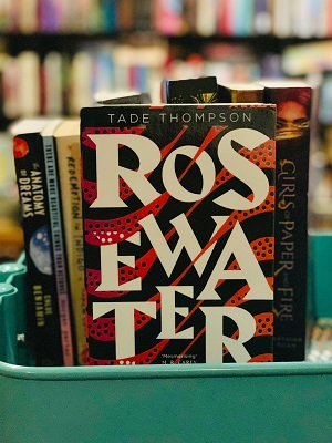 Rosewater on Bindro's Bookshelf