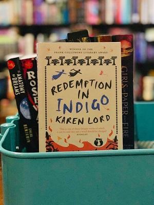 redemption in indigo on Bindro's Bookshelf