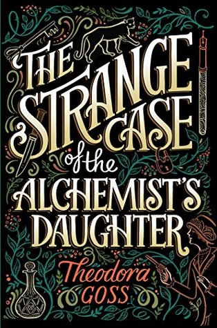 the strange case of the alchemists daughter as featured on bindros bookshelf
