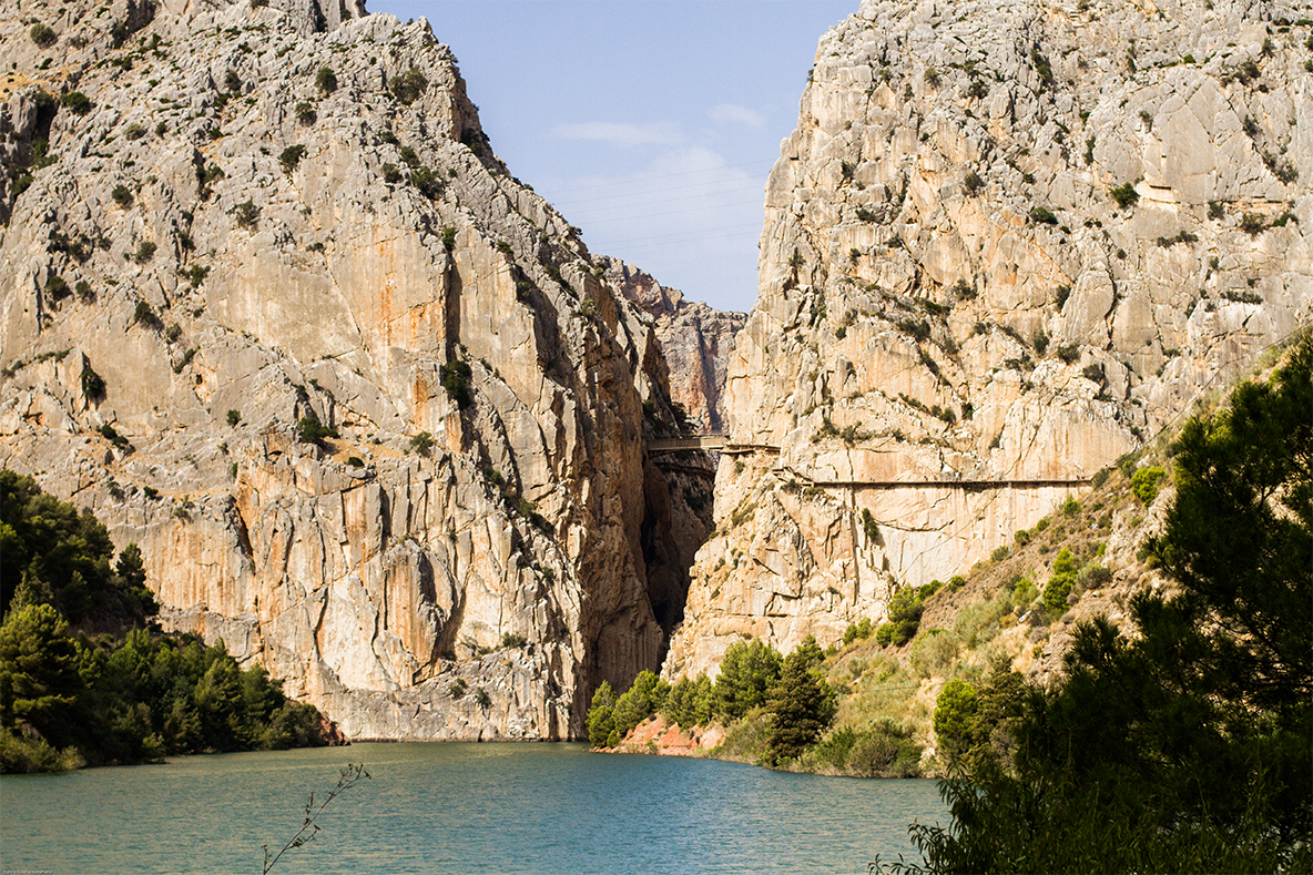 Cycling in el Chorro