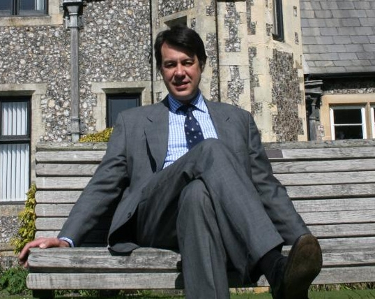 Sompting Abbotts Headmaster, 2005-2012, the late Timothy Sinclair
