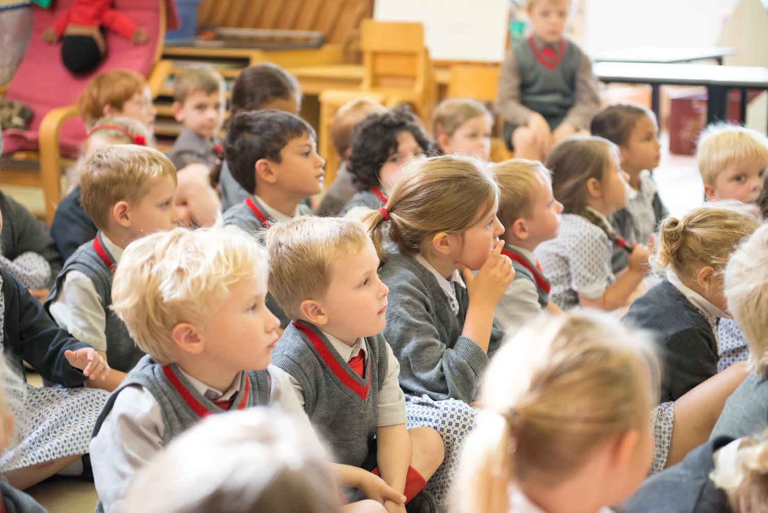 Class sizes are capped at 15 at Sompting Abbotts Preparatory School