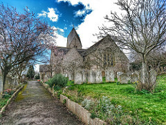 St Mary's Church, Sompting - Our school, since its foundation, has maintained close links with the neighbouring Saxon-built church of St Mary's in Sompting. It's where we hold our annual Christmas carol service, Easter service and Harvest Festival. Photo: Mark Bridge, Flickr