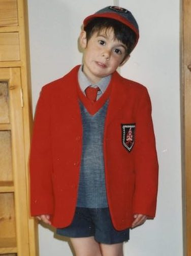 Ned, starting out at Sompting Abbotts Preparatory School