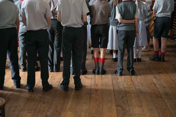 Assembly at Sussex private school Sompting Abbotts Prep School