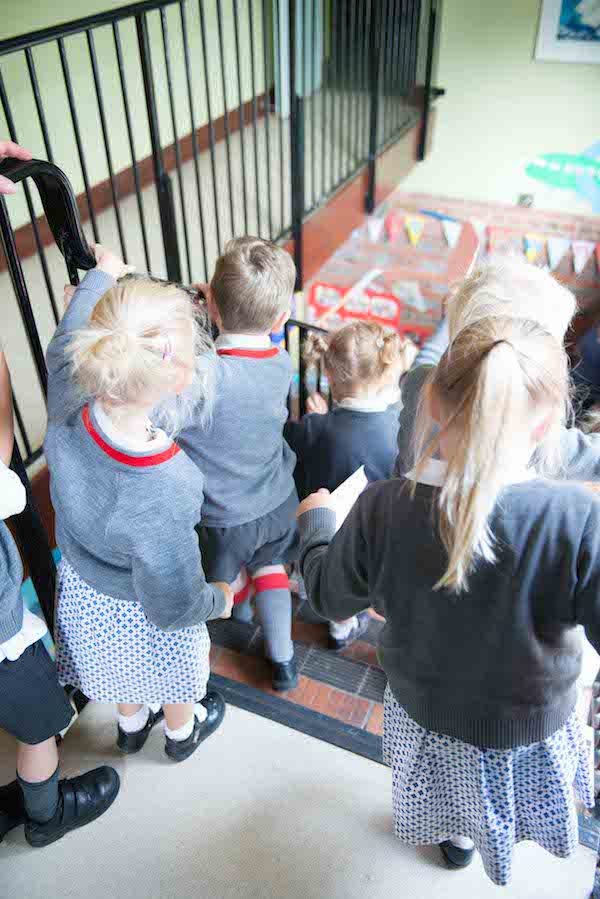 children at private school near worthing sompting abbotts