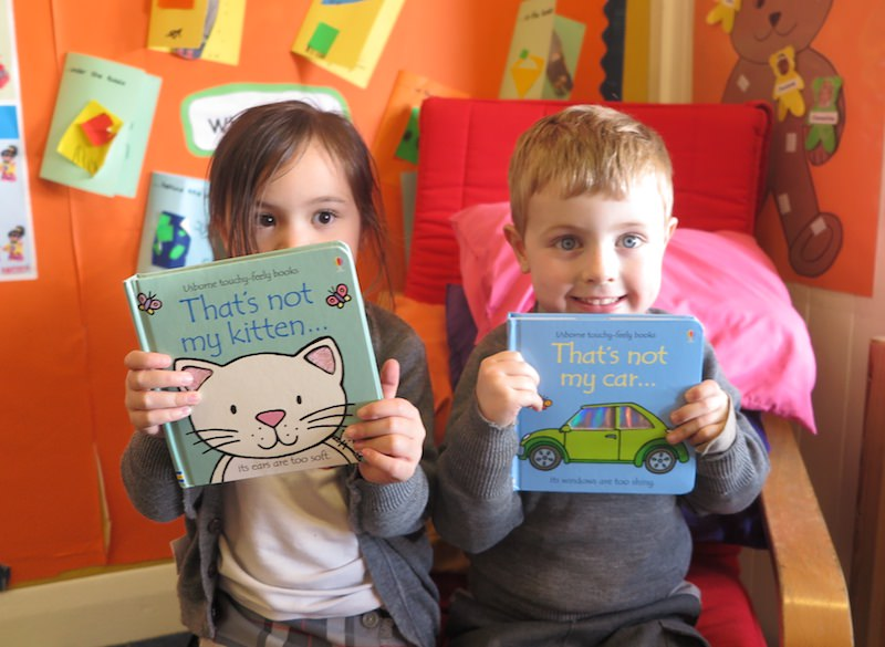 favourite books for pre-schoolers