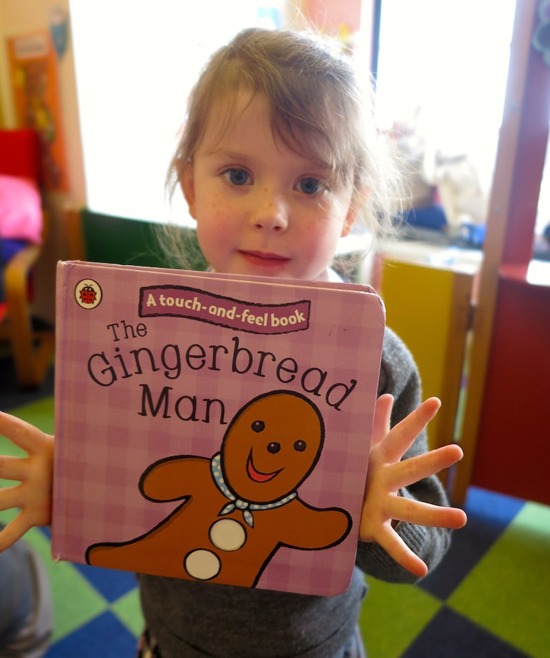 gingerbread man at sompting abbotts prep school is a favourite book