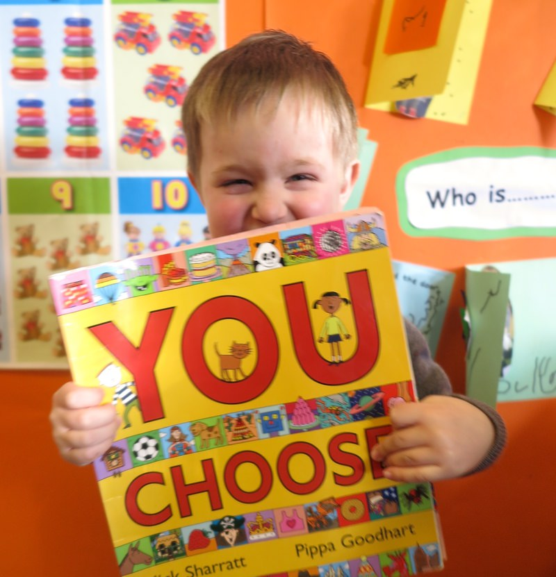 you choose by nick sharratt