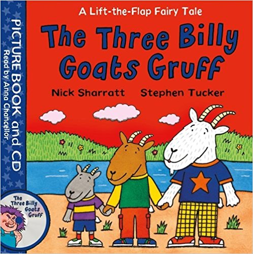 three billy goats gruff nick sharratt