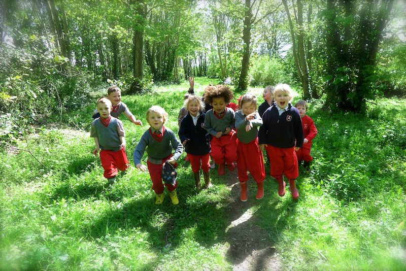 forest school fun at sompting abbotts private school worthing