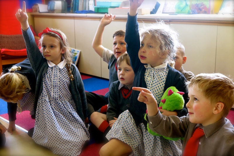 pre-prep students sompting abbotts private school near worthing