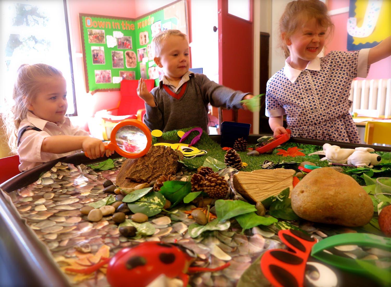 children in sompting abbotts nursery