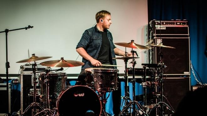 Ben playing at BIMM. Copyright: BIMM