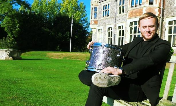 ben thompson two door cinema club drummer grounds sompting abbotts.JPG