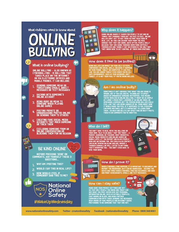 What Children Need to Know About Online Bullying