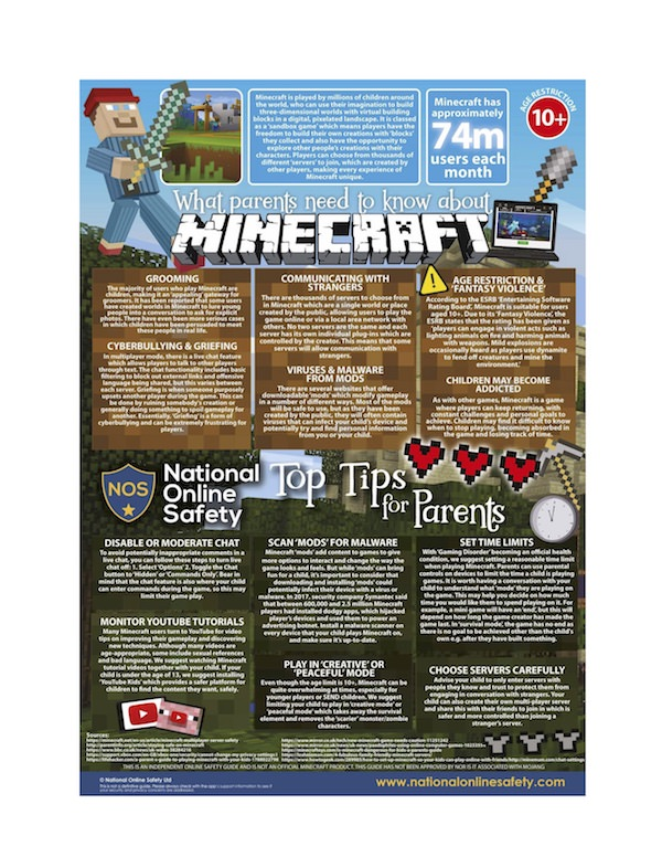 What Parents Need to Know About Children and Minecraft