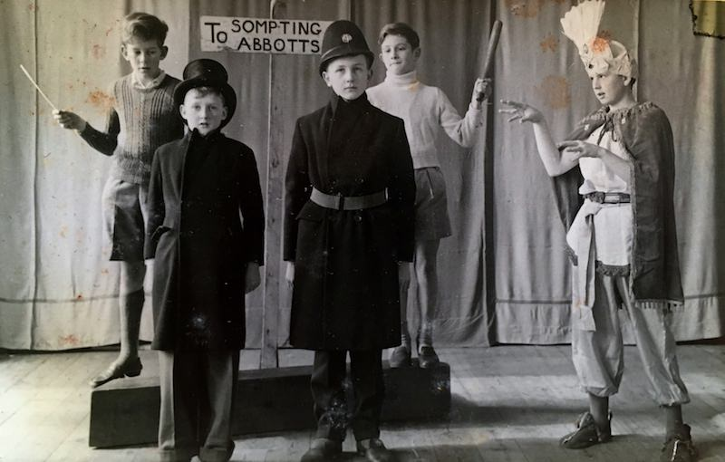 8 How about this one? Any idea of what play? What year? Roughly? School plays were still an annual tradition back then?