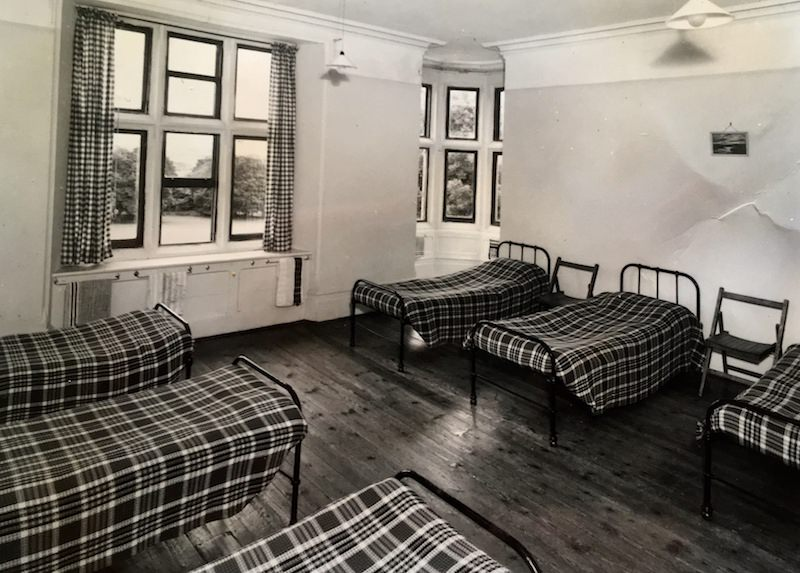 One of the boys' school dormitories of the period; now the school's maths room