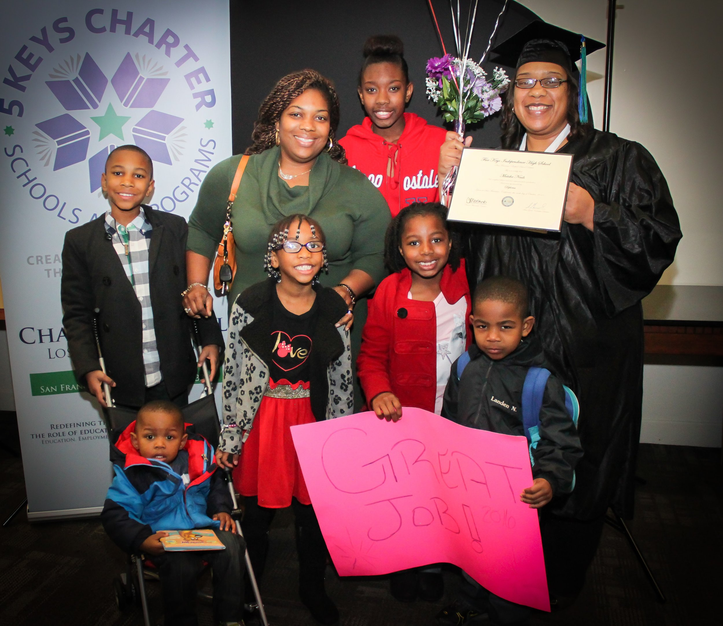 LA Community Graduation - 2016 January