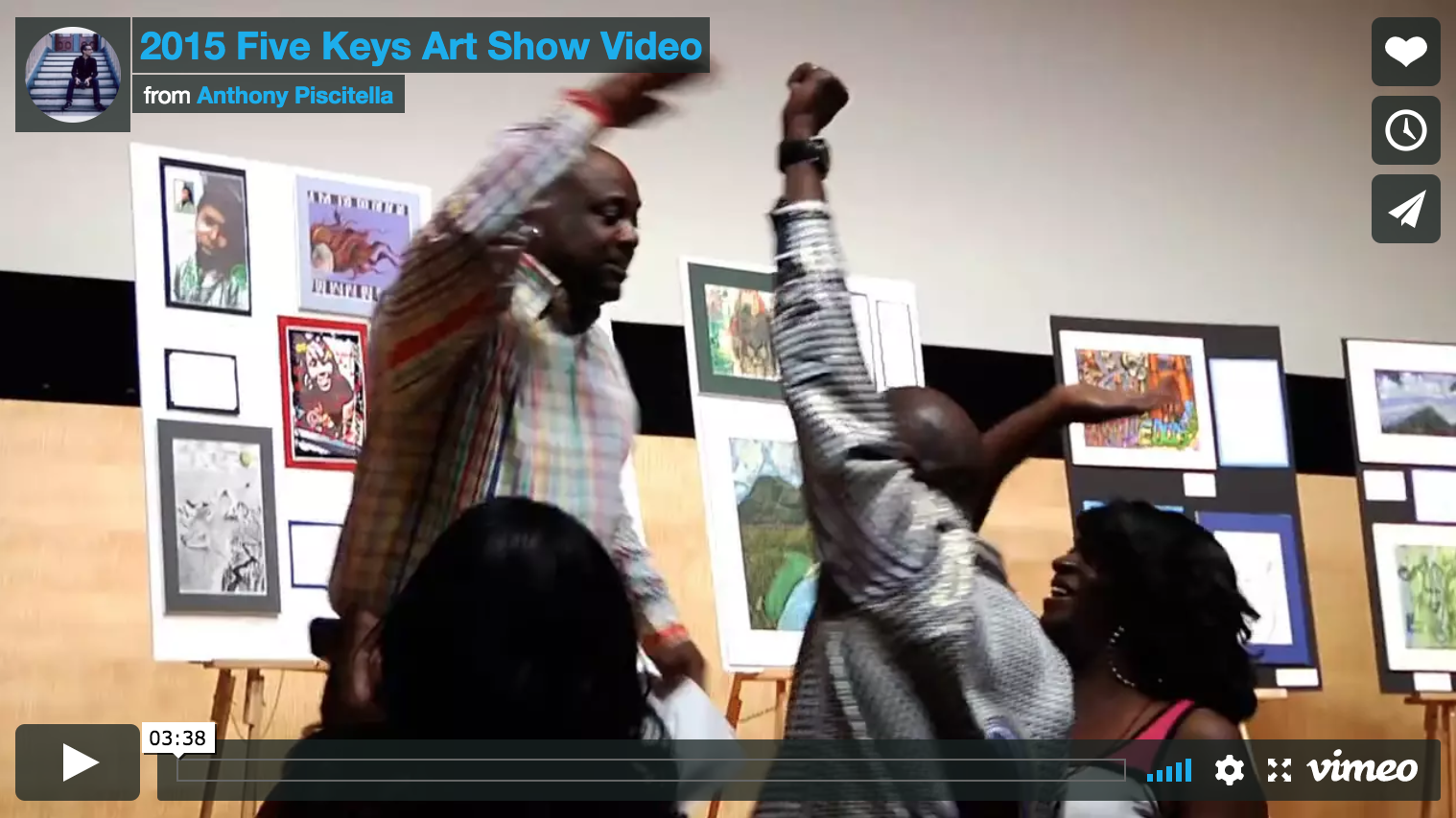 Five Keys Art Show Video... -