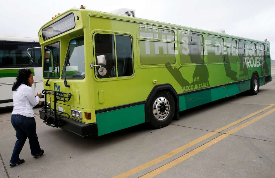 Mobile classroom bus will steer… -