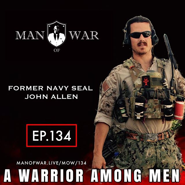 In this powerhouse of an episode number 134 we dive into what separates men from warriors. The reality is that there is a big difference. . Our guest is former Navy SEAL John Allen @johnballen416 who is the founder of Elite Meet and an entrepreneur making things happen in the veteran community. . During this charged up conversation we discuss John's experience as a SEAL, his near death experience, how to develop courage, self confidence, our society, his family, mental toughness and so much more. . There are great takeaways from this episode which you can implement into your life immediately. As always listen at your own risk. . PODCAST LINK ON BIO 👆