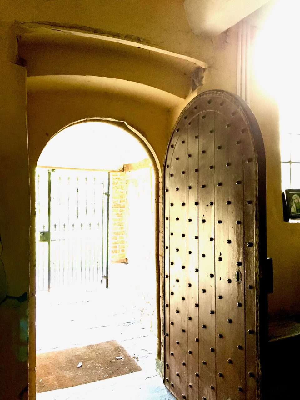 Sheela Na Gig Doorway