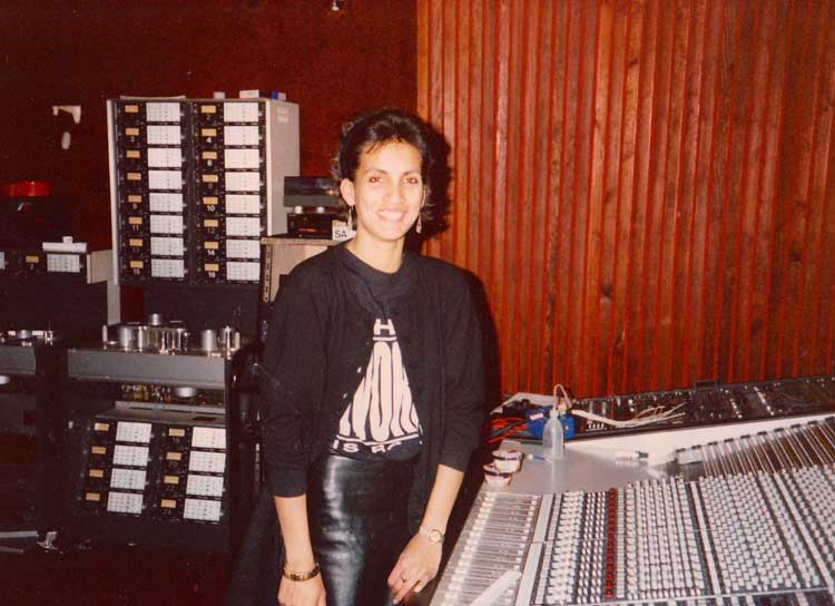 Anjali at Studio 2 again