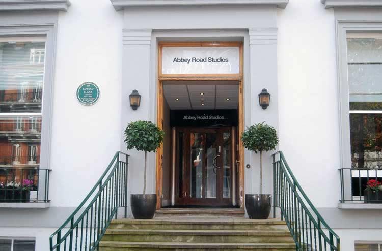 Abbey Road 2017 entrance