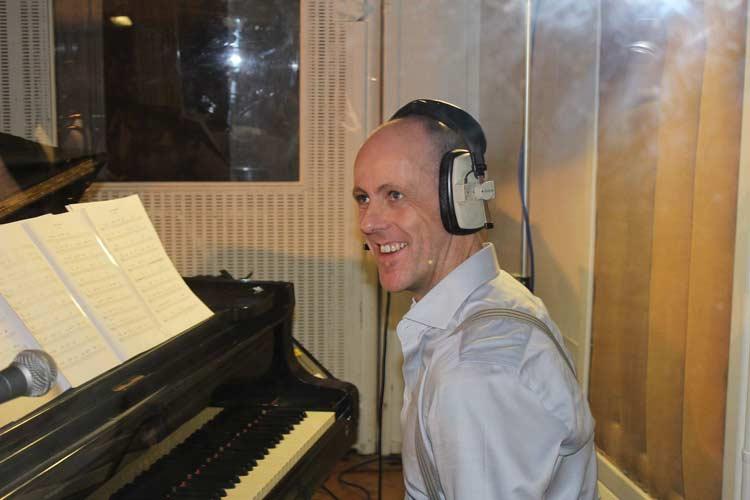 Stephen Duffy recording day (Brave)
