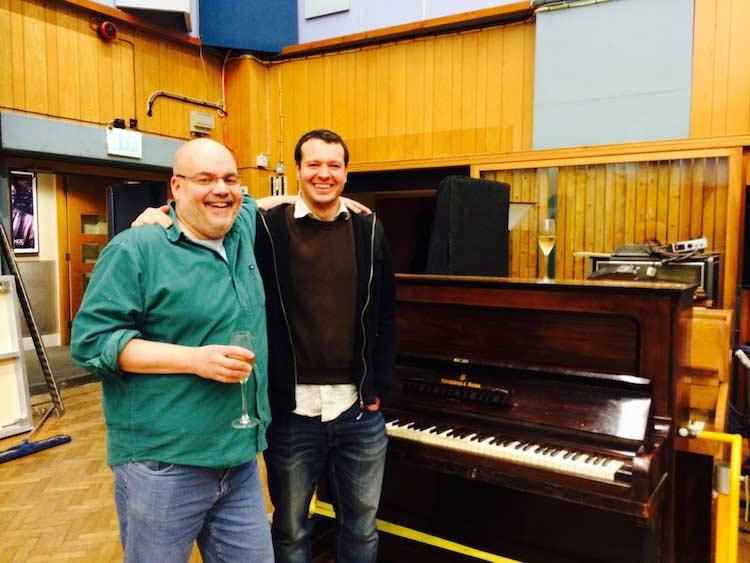 Alex Wharton and I (studio 1)