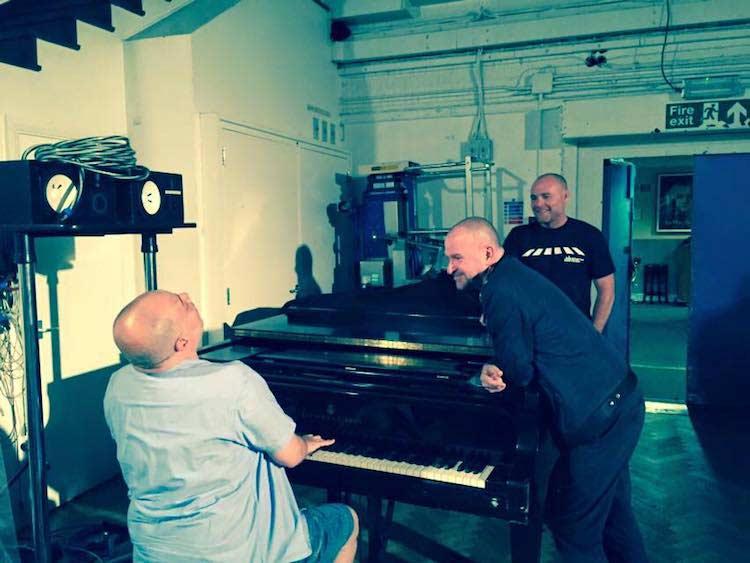 Practicing with Dave Fernandez and Matthew Cocker (Studio 2)