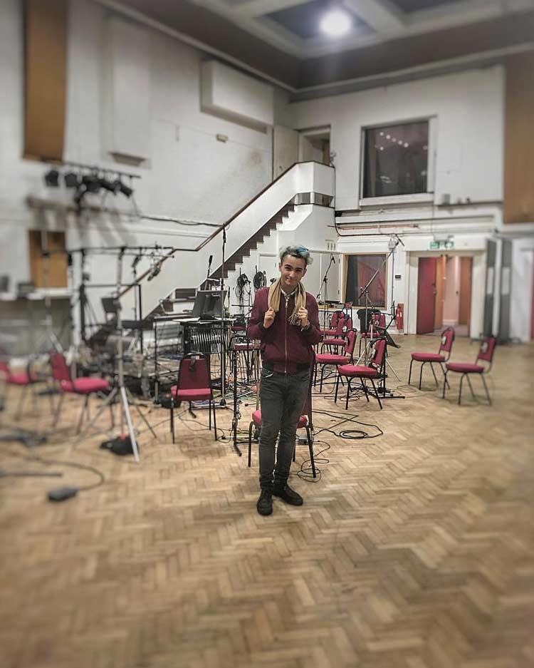 Biao (aka Nacho C) in Studio 2