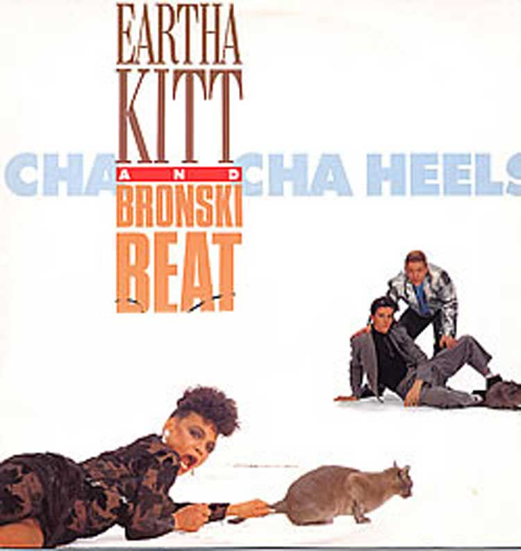 Cha Cha Heels, written by Jonathan Hellyer and sung by him and Eartha Kitt