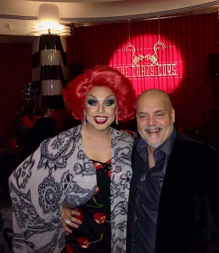 La Voix with Chris Marshall for Crazy Cows gig