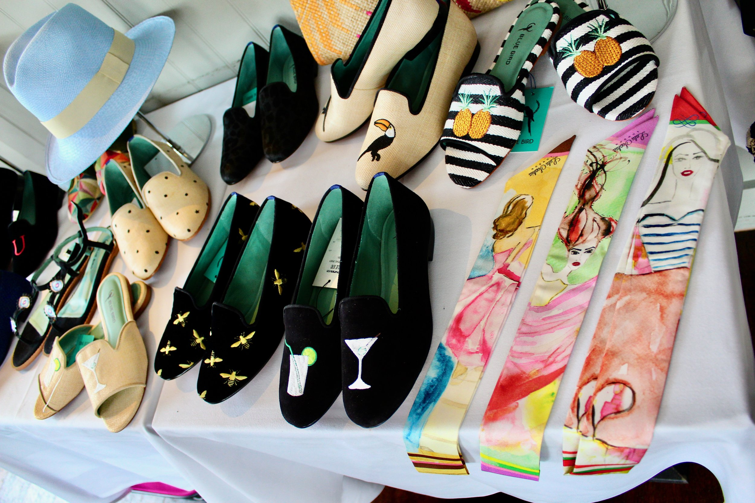 Shoes and Hats by Bleue