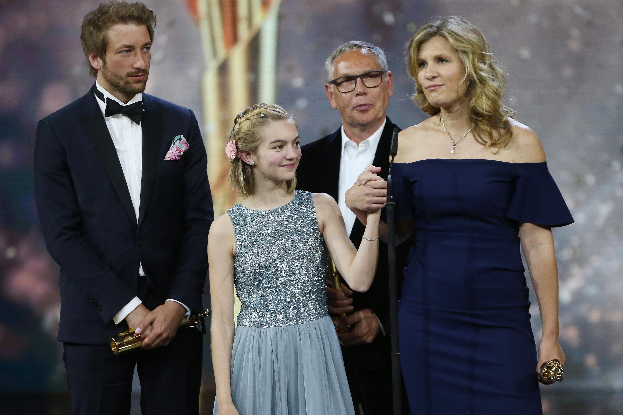 Rocca gewinnt den Deutschen Filmpreis für den besten Kinderfilm. -
