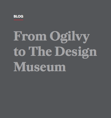 Ogilvy, online interview, 29th June 2018, U.K.
