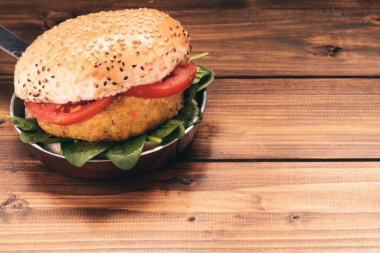 Aroma Kosher Market Veggie Quinoa Burger