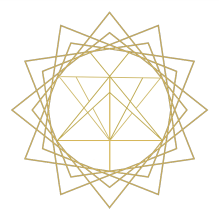 Gold TheSugar Tarot Logo